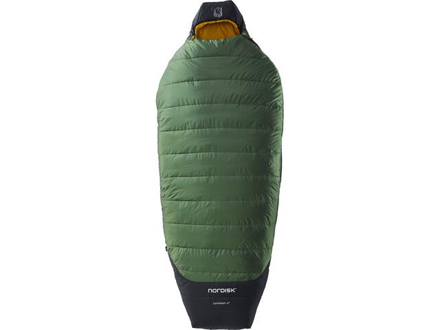 Nordisk Gormsson -2° Egg Saco de Dormir L, negro/verde